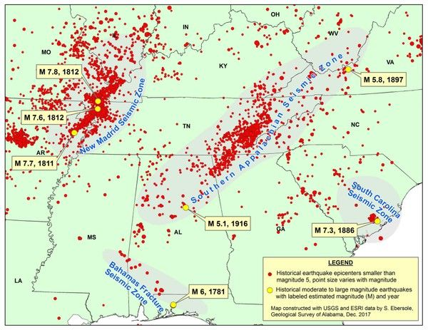3 earthquakes in a week still 'normal seismic activity' - AL Bugle